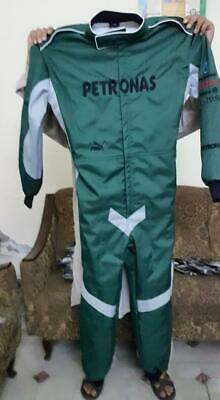 PETRONAS PUMA Go Kart Race Suit CIK FIA Level 2 Approved with free gift Gloves