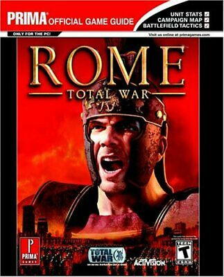 Rome: Total War - Official Strategy Guide-Prima Temp Authors, Stephen Stratton