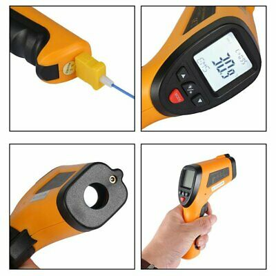 HT-868 Precise High TemTYrature Infrared Thermometer With TyTY K In TY