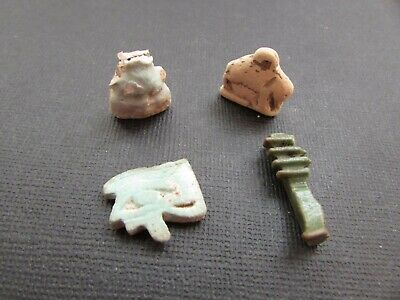 NILE  Ancient Egyptian Amulets ca 600 BC