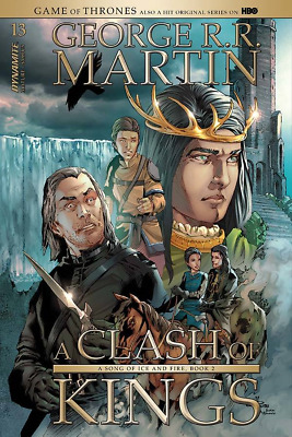 Game Of Thrones Clash Of Kings #13 Cover B Fumetto 2018 - Dynamite