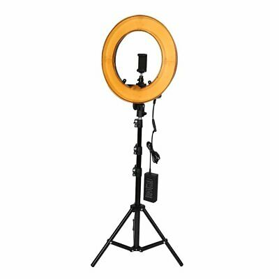 12inch Photography Studio Dimmable LED Ring Light with Holder Mount Stand CL