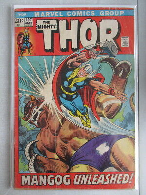 Mighty Thor Vol. 1 (1966-2011) #197 GD/VG (Cover Detached)
