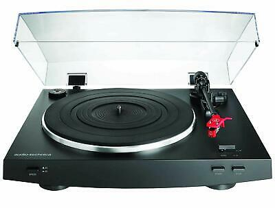 Audio-Technica AT-LP3 Fully Automatic Belt Drive Turntable (Black) B+