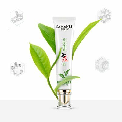 Sha Man Li Tea Tree Essential Oil Anti Acne Gel Safe Convient And Gr D◎