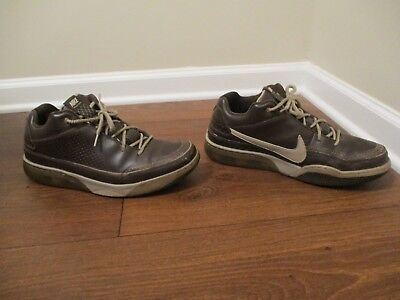 206aa1e11317a6 Classic 2007 Used Worn Size 13 Nike Shox Spotlight Low Shoes Brown Chino  Gold