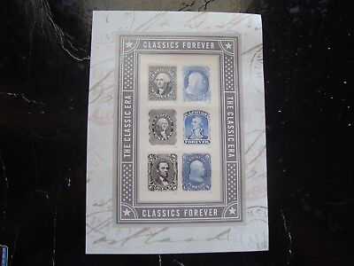 Scott 5079 A-F U.s. Classics Mint Sheet Of 6 Forever Stamps