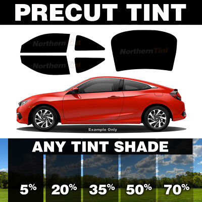 ALPINE PRECUT SUN STRIP WINDOW TINTING TINT FILM FOR FORD MUSTANG COUPE 90-93