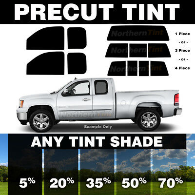 Sunstrip Precut Window Tint For Toyota Tacoma Extended Cab 2016-2018