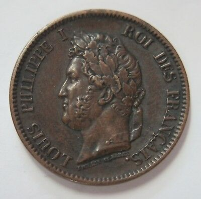 French Colonies 1844 5 Cents