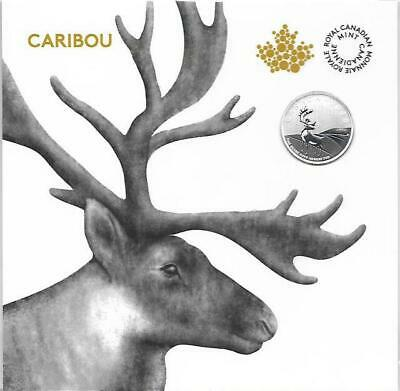 Canada - 2018 'Caribou' Specimen $3 Silver Coin 1/4oz .9999 in Sealed Folder
