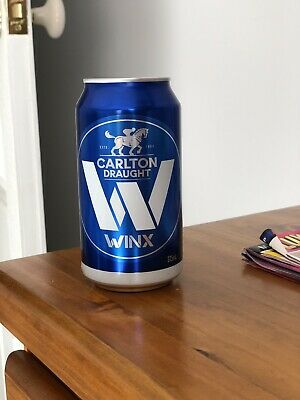 WINX CARLTON DRAUGHT LIMITED EDITION COX PLATE BEER CAN, Very Collectable