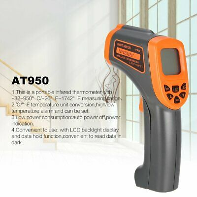 Smart Sensor Digital Handheld Infrared Thermometer TemY~rature Gun Non Cont Y~