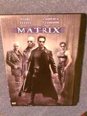The Matrix (1999 DVD) Keanu Reeves, Laurence Fishburne, Carrie-Anne Moss