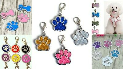 FREE ENGRAVING Dog ID / Cat ID Name  Tag Personalised Puppy Pet ID Tags UK