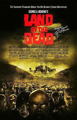 """George A Romero's Land Of The Dead movie poster (b) -  11"""" x 17"""" inches - Horror"""