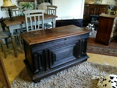 Old Antique French Chest