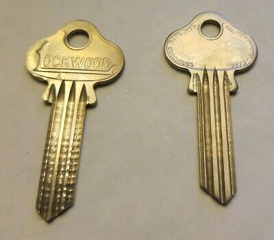 50 Vtg 1006  ILCO Key Blanks for Lockwood
