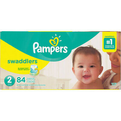 Pampers Swaddlers Diapers Size 2 - 84 count