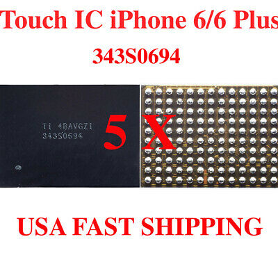 5X iPhone 6 & Plus Touch Screen Digitizer IC Motherboard Chip 343S0694