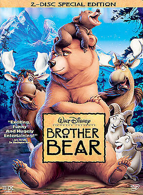 Brother Bear (DVD, 2004, 2-Disc Set, Special Edition) WS Free Ship #1211AT