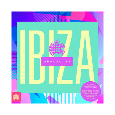 IBIZA ANNUAL '14 (2014) 40-track 2 x CD album BRAND NEW Calvin Harris DJ Fresh