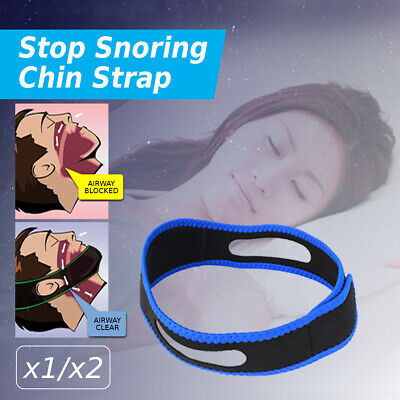 Anti Snore AntiSnore Device Jaw Brace Stop Snoring Solution Chin Support Strap