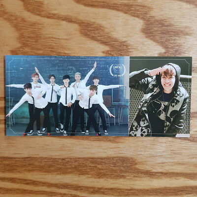 J Hope Official Photocard BTS 2nd Mini Album Skool Luv Affair Genuine