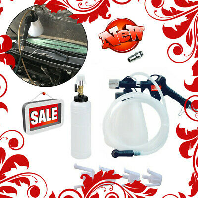 1L Air Brake Bleeder Bleeding Fluid Pneumatic Clutch Garage Vacuum Fill Bottle