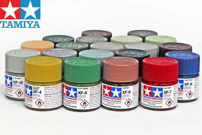 Tamiya Color Flat Acrylic Paint 81701-81791 XF-1 to XF-91 (10ml) For Model Kit