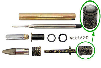 Spiritual Twist Pen Kit - Antique Bronze Polish