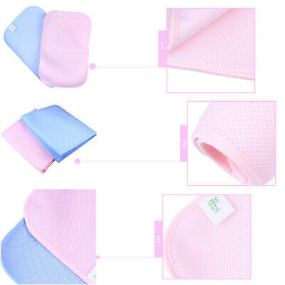 3D Waterproof Bamboo Changing Pad Insulation Leak-Proof Protector Soft Mat Z