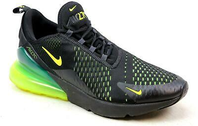 quality design 96ae9 d6cbc Mens Nike Air Max 270 Black Knit Mesh Running Active Sports Trainers Size  Uk 11