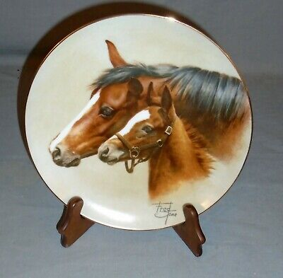 Tranquility by Fred Stone Horse Collector Plate American Artists With COA