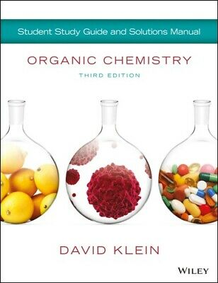 [P.D.F] Organic Chemistry Student Solution Manual / Study Guide by David Klein