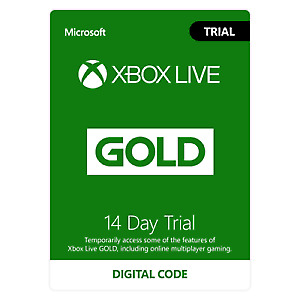 Xbox Live 14 Day (2 Weeks) Gold Membership Trial Code