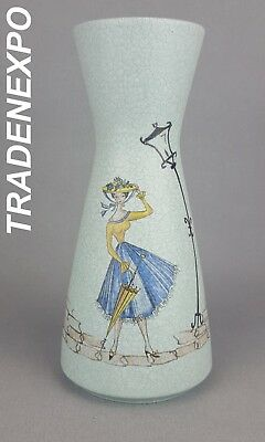 Retro Vintage 50's MARZI AND REMI KERAMIK Vase West German Pottery Fat Lava Era