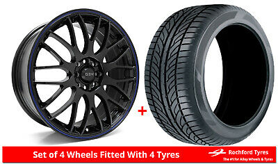 """Alloy Wheels & Tyres 16"""" GEN2 Orion For Ford Transit Courier 14-19"""
