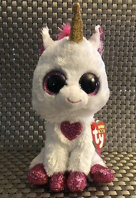 858b00b03ce New Ty Beanie Boos - CHERIE the Valentine Unicorn 6