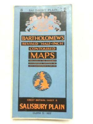 Bartholomew's Revised Half-Inch Contoured Map Sheet 8, (Anon - 1955) (ID:74005)