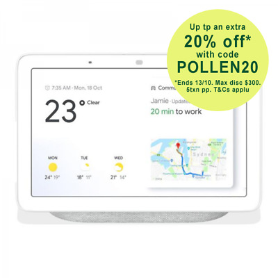 Google Home Hub Smart Display & Home Assistant - Chalk