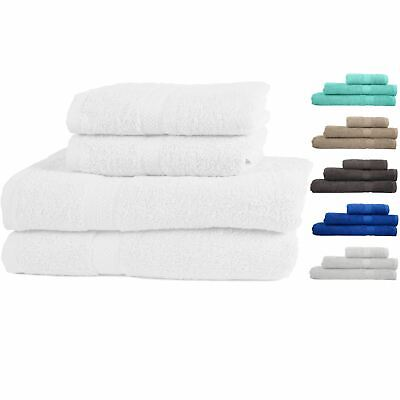 Premium 100% Cotton Towels Hand Bath Face Everyday Luxury Soft & Absorbent