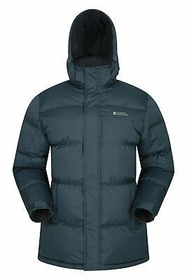 Mountain Warehouse Mens Padded Jacket Water Resistant Winter Snow Coat
