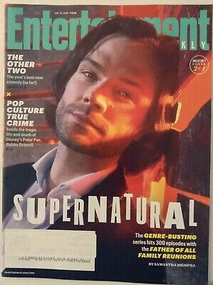 Entertainment Weekly Magazine Supernatural January 25, 2019 022219nonrh