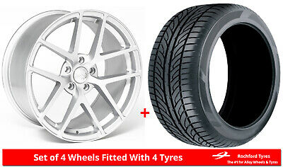"""Alloy Wheels & Tyres Wider Rears 19"""" Drehen DH-A + 2454019 & 2753519 Tyres"""
