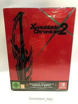 Xenoblade Chronicles 2 Collector's Edition Limited Nintendo Switch Region Free