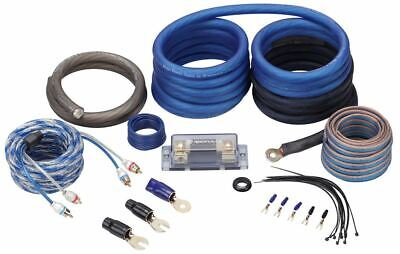 Rockville RWK0CU 0 AWG Gauge 100% Copper Complete Amp Installation Wire Kit OFC
