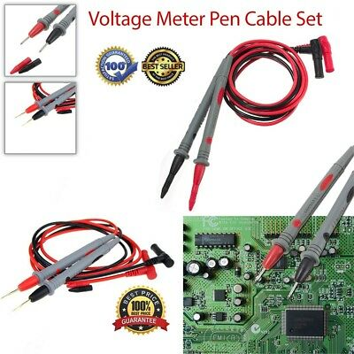 Universal Pair Digital MultiMeter Lead Test Probe Wire Voltage Meter Cable Pen