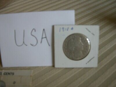 1913-D Barber Half Dollar Good+ G+ Nice Original Coin Fast Ship