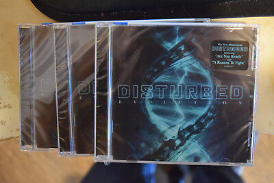 DISTURBED Evolution CD Brand New FACTORY SEALED 2018 Are You Ready no shirt